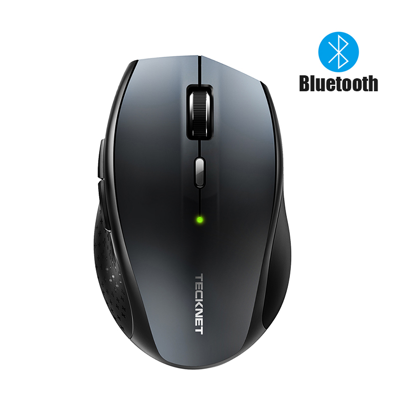 TeckNet 3.0 Wireless Mouse Computer Bluetooth Mouse Silent DPI 800/1200/1600/2000/3000DPI For Laptop Notebook PC Computer
