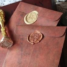 20 шт./лот, новые винтажные конверты из крафт-бумаги, античный Подарочный конверт для свадебной вечеринки, офиса, школы