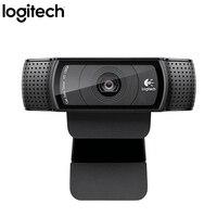 logitech Webcam C920 Pro PC Web Camera USB FULL HD 1080P Webcam 15 Million Pixels CMOS 30FPS USB CAM Web Camera Logitech C920