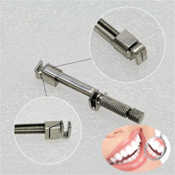 1pc Dentist Stainless Steel Restorative Tool Universal Matrix Bands Retainer Dental Posterior Dental Matrix Band Retainer 3 meter stainless steel matrice bands 5mm 6mm 7mm width 0 025mm thichness good elastic steel matrix strips roll dental matrix