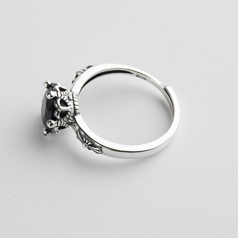 925 Sterling Silver Open Rings for Women 4