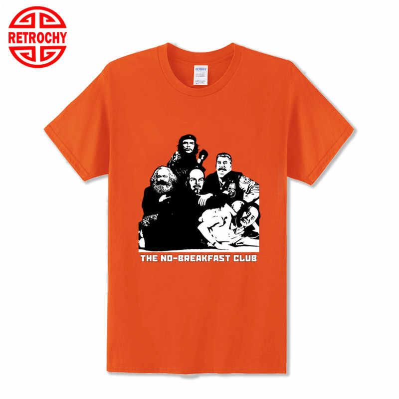 Komunis Teman Kawan-kawan Marxisme T Shirt Marx Inggris Lenin, Stalin dan Mao Zedong Tshirt Baru Desain Unik Pria T-shirt 5XL