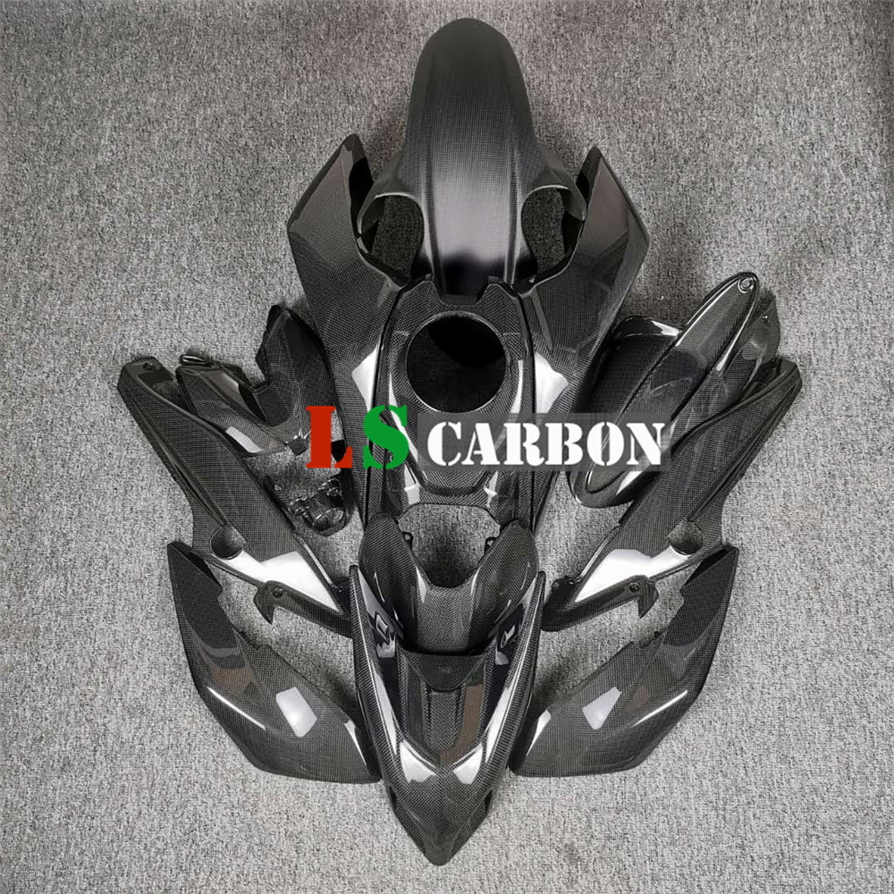 Motorcycle Accessories Full Fairing Kits In Full Carbon Fiber For Ducati Hypermotard 950 2019-2020  Plian Glossy Weave