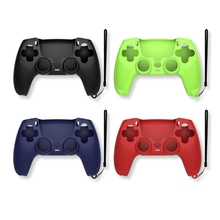 Handle Sleeve Silicone Case Dustproof Skin Protective Cover Anti Slip for S ony Play Station PS5 Controller Game Accessories