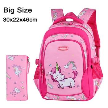 2020 New Children School Bags for Teenagers Boys Girls Big Capacity School Backpack Waterproof Kids Book Bag Travel Backpacks - Color I