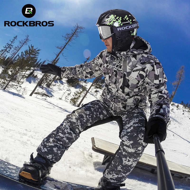 ROCKBROS Ski Helm Integral geformten Männer Frauen Kind Sicherheit Schützen Helm Thermische Ultraleicht Snowboard Helme Zubehör
