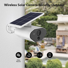 цена на Waterproof HD Solar IP Camera 1080P Wireless Outdoor  Camera WiFi with Night Vision Motion Detection P2P Home Security Camera