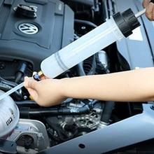 1 Set Fluid Extraction Car Air Pump Filling Syringe Oil Extractor Automotive Polypropylene Construction Car Accessories