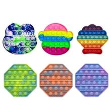 Пузырь Сенсор Игрушка Ночь Светящийся Стресс Реле Игрушка для Детей