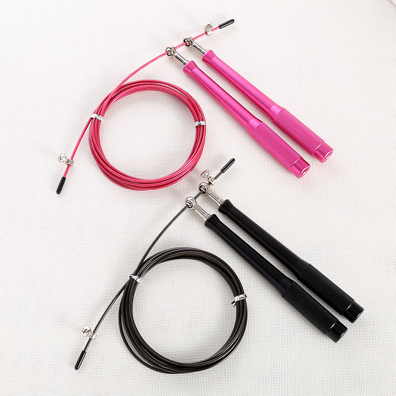 2019 New Style Primary School STUDENT'S Aluminium Alloy Steel Wire Jump Rope   Adjustable Racing Jump Rope Customizable Bearing