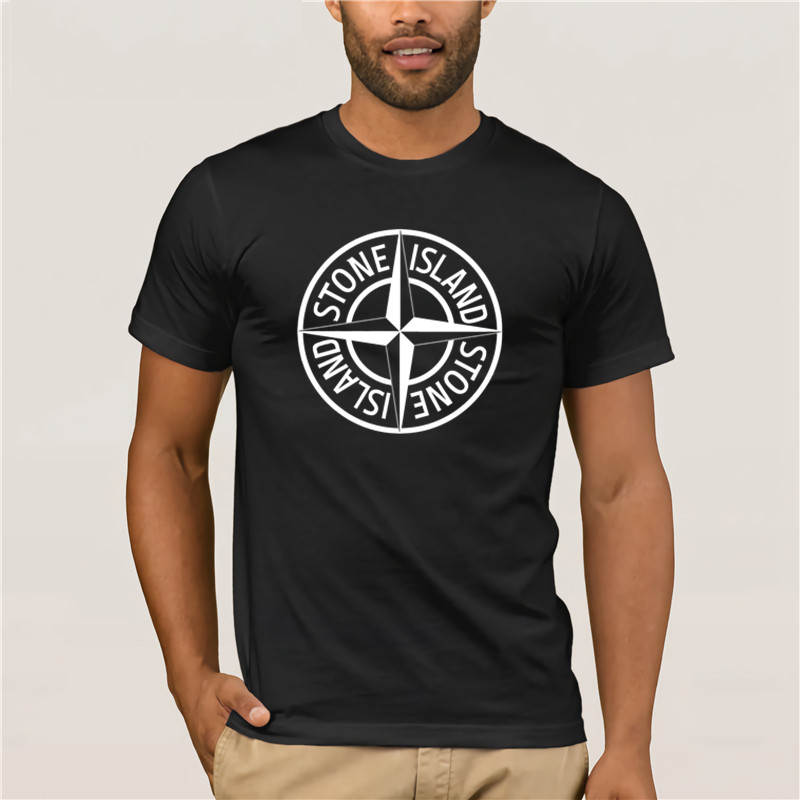 Short Fashion T-shirt Men Gedrukt Fitness Steen Is Land Sebs Jazz Seb's Muziek Mens Standaard Voor Heren Sports Man's T-shirt