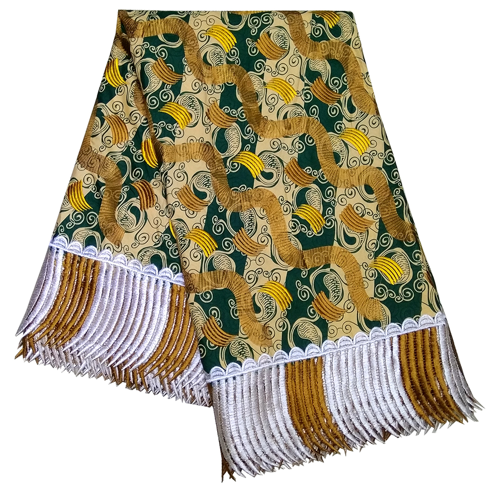 African Batik Embroidery DIY Lace Fabric Dutch Wax Ankara Wax Prints Fabric