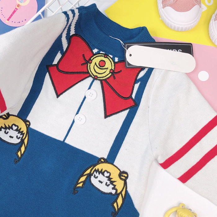 cosplay traje bonito manga longa sailor moon