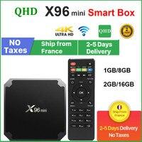 Original QHDTV X96 Mini Set-top box Android 9,0 8GB 16GB AMLOGIC S905W quad CORE X96Mini leadcool Android Lxtream Dispositivo de TV inteligente