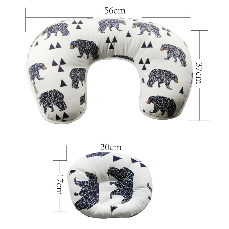 Baby Nursing Pillows Maternity Baby Breastfeeding Pillow Infant Cuddle U-Shaped Newborn Cotton Feeding Waist Cushion
