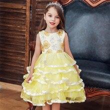 sukienka dziewczynka toddler girl Sequin layered Dress infantil cocuk abiye vestido adolescente kinder kleider vetement fille
