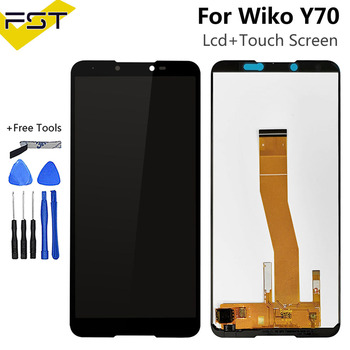 Перейти на Алиэкспресс и купить 5,99 ''для Wiko Y70 ЖК-дисплей и сенсорный экран в сборе Полный ЖК-экран для Wiko Y70 стеклянная панель + Инструменты