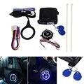 Auto Motor Push Start-Taste RFID Motor Lock Zündung Keyless Entry System Gehen Push-Taste Motor Start Stop Wegfahrsperre 5