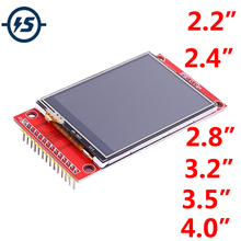 RGB TFT Touch LCD Display Module Driver SPI 320*240 480*320 3.3V/5V IPS with SD Card Socket ILI9341 ILI9488 ST7796S Driver