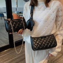 Totes Bags For Women Luxury Soft Leather 3pcs sets Shoulder Bag Ladies Vintage Purse and Handbag Mini Chain Messenger Bag Clutch