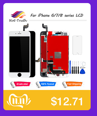 H1160c1a6c2de43bc93978a8082b87567Q 1Pcs OEM LCD For iPhone 7 7 Plus Display Full Set Digitizer Assembly 3D Touch Screen Replacement +Front Camera+Earpiece Speaker