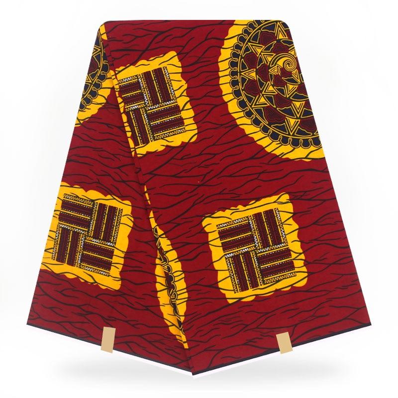 Nigeria Ankara African Wax Prints Fabric Print Wax Fabric  Wax 100% Polyester Wax Fabric