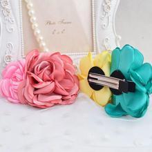 Модные заколки-невидимки для девочек и детей в виде больших роз Бант Шпилька заколки невидимые женские заколки для волос