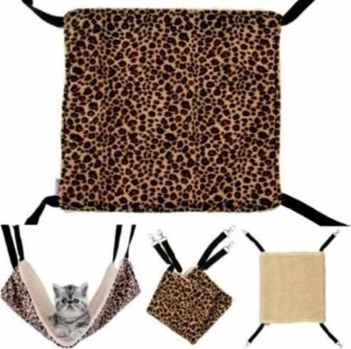 애완 동물 고양이 해먹 매달려 따뜻한 고양이 침대 매트 양면 사용할 수있는 애완견 고양이 용품 고양이 침낭 집