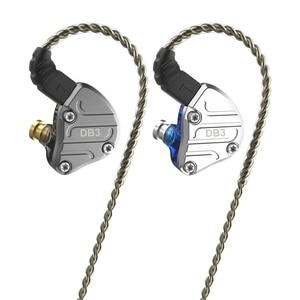 Image 5 - Nicehck DB3 1BA + 2DDハイブリッド3ドライバユニットで耳イヤホンモニター稼働スポーツイヤホンハイファイヘッドセットdjインナーイヤー型iem MK3