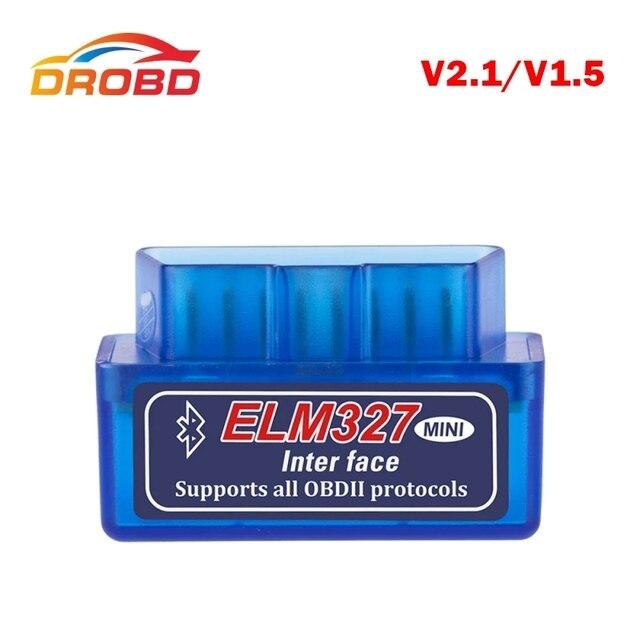 2019 Mini ELM327 OBD2 Bluetooth Car code reader V2.1 obd 2Scanner Diagnostic Tool ELM 327 for Android  auto diagnostic tool