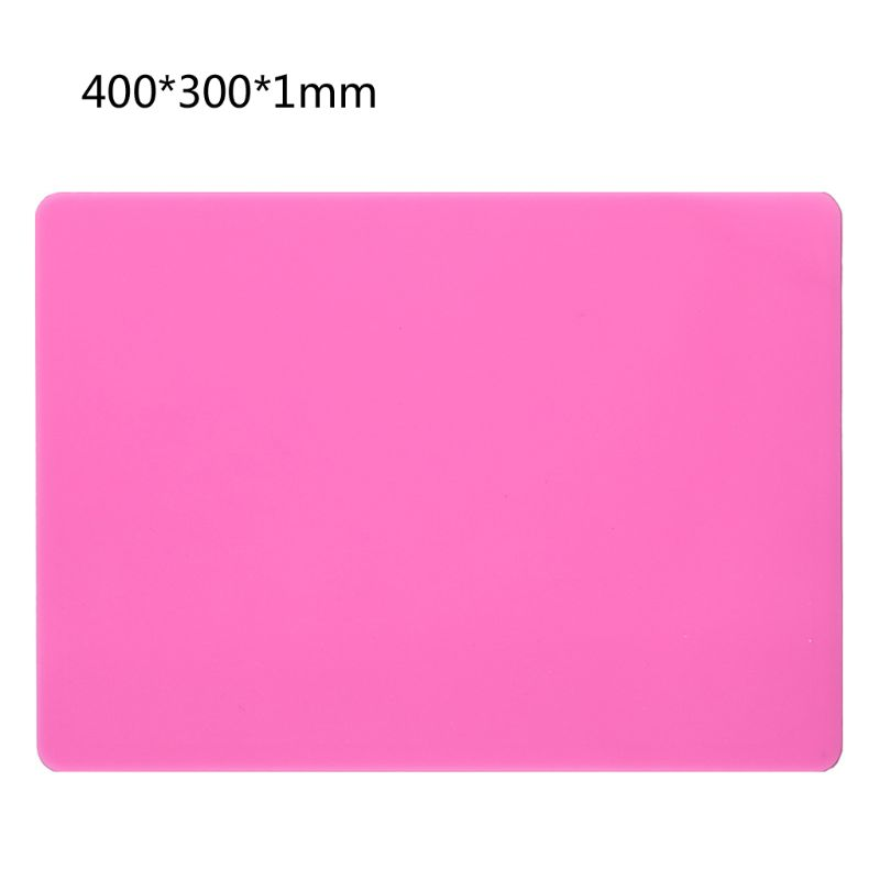 DIY Silicone Mat Resin Pad Craft Tool High Temperature Resistance Sticky Plate N58F
