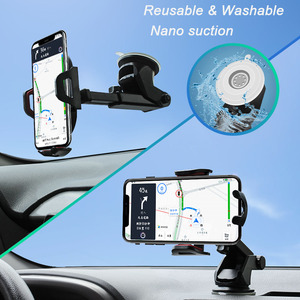 Image 5 - Arivn Dashboard Windshield  Gravity Sucker Car Phone Holder For iPhone X Holder For Phone In Car Mobile Support Smartphone Stand