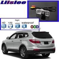 For Hyundai Santa Fe DM \/ ix45 2013~2016 Car Camera High Quality Rear View Back Up Camera For PAL \/ NTSC Use  CCD Standard