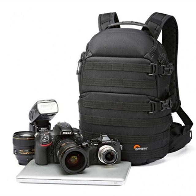 Hızlı kargo orijinal Lowepro ProTactic 350 AW DSLR fotoğraf makinesi fotoğraf çantası dizüstü sırt çantası ile tüm hava kapak koyabilirsiniz 13 Dizüstü bilgisayar