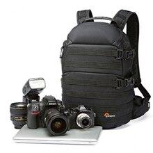 빠른 배송 정품 Lowepro ProTactic 350 AW DSLR 카메라 사진 가방 모든 날씨 커버와 노트북 배낭 13 노트북을 넣을 수 있습니다