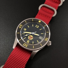 STEELDIVE 1952 First Dive Watch Re-engraved Special Edition Chinese Red Men's