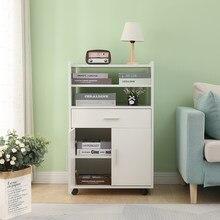 Armário de móveis de cozinha mesa de armário de armazenamento de aparador prateleira de 360 graus universal roda de jantar mobiliário de cozinha de carro hwc