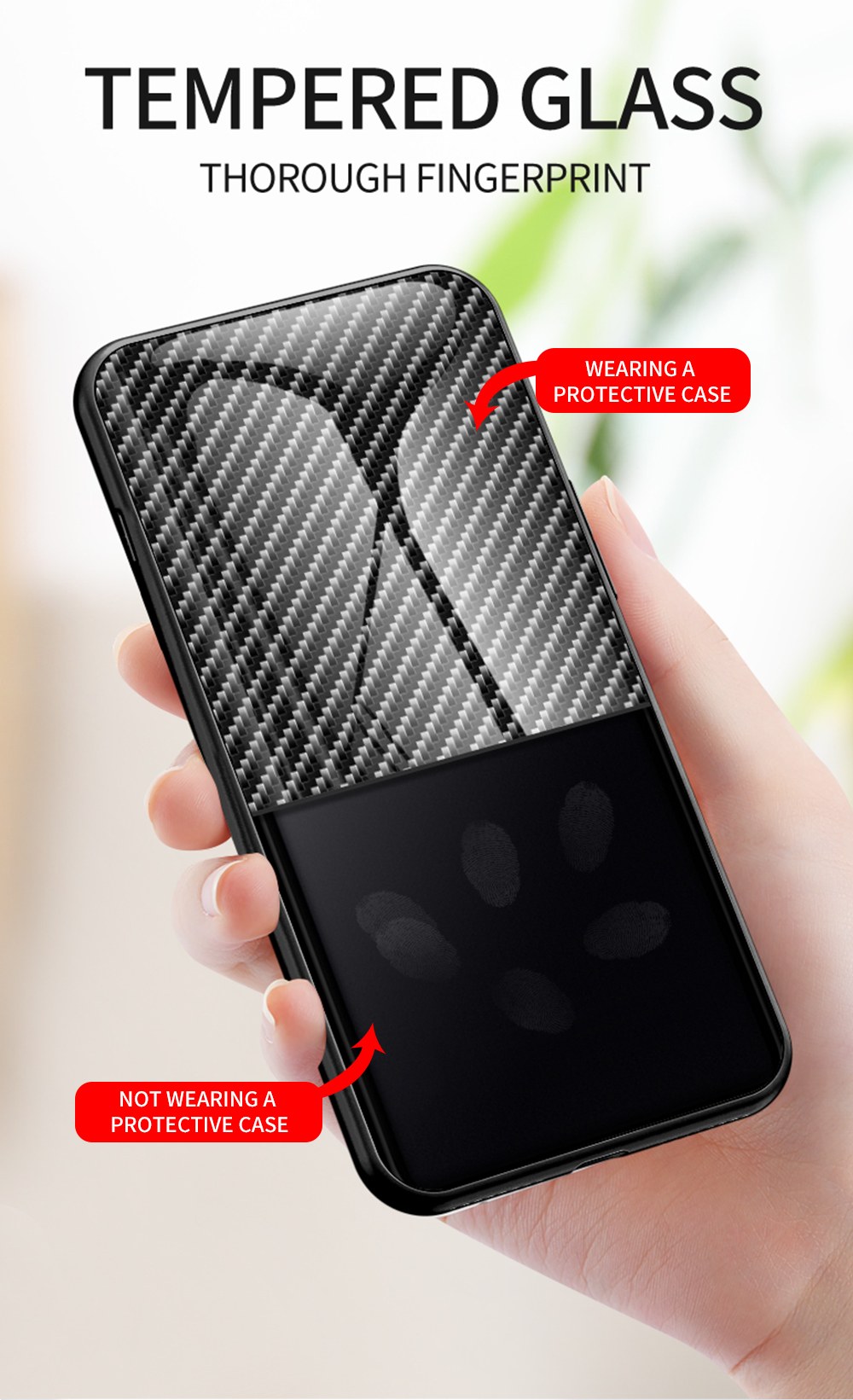 XUANYAO Case Cover For Samsung Galaxy Note 20 Plus Case Glass Hard Cover For Samsung Galaxy Note 20 Ultra Case Slim Carbon Fiber (7)