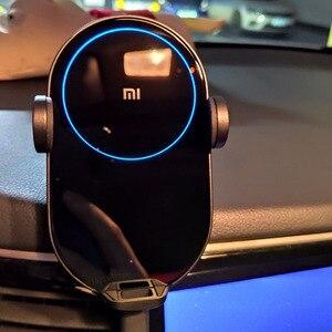 Image 5 - Xiaomi Mi 20W/Max 10W Không Dây QI Sạc Xe Hơi WCJ02ZM Tự Động Kẹp Với Cảm Biến Hồng Ngoại Thông Minh Nhanh sạc Giá Đỡ Điện Thoại Ô Tô