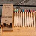 5 teile/satz Kind Weiche Fibre Umwelt Holz Zahnbürste Bambus Zahnbürste Holzgriff Zahn pinsel Bleaching Mundpflege Werkzeug