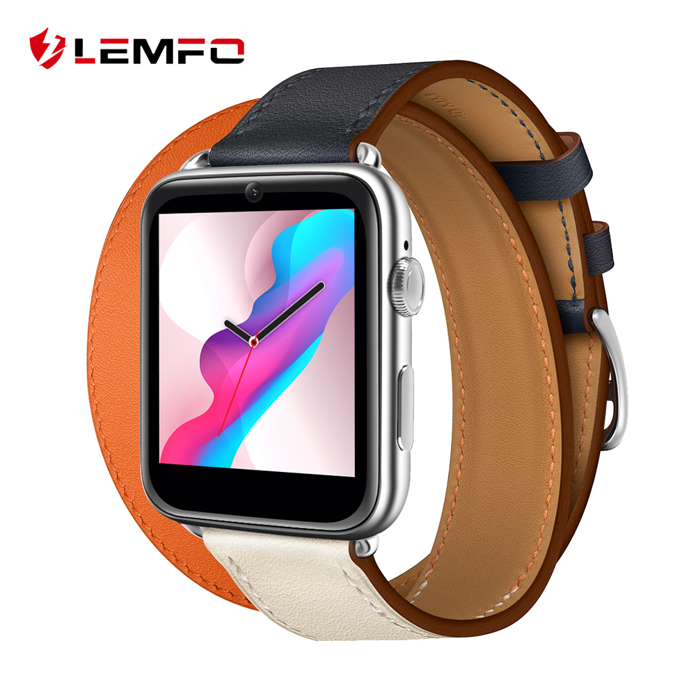 LEMFO LEM10 4G Android 7.1 Smart Watch Men 3GB + 32GB GPS WIFI 780Mah Big Battery 1.88 Inch IPS Screen Smartwatch Pre-sale
