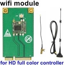 HD serisi tam renkli Led kontrol kartı Wifi modülü için özel HD C15 C15C C35C C35 D35 D15 Huidu video led denetleyici