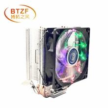 3 heatpipe refroidissement refroidisseur de processeur pour LGA 775 1150 1151 1155 1156 2011 CPU 9 cm Support ventilateur Intel AMD