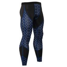 Men Compression Leggings Gym Fitness Pants Running Sport Tights Jogging Trousers Male Crossfit Training Yoga Sportswear Bottoms недорого