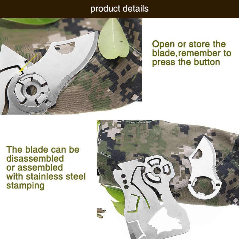 Mini kieszonkowy noże odkryty samoobrony narzędzia EDC portfel kredytowy karty nóż składany na zewnątrz knifePendant narzędzi ręcznych