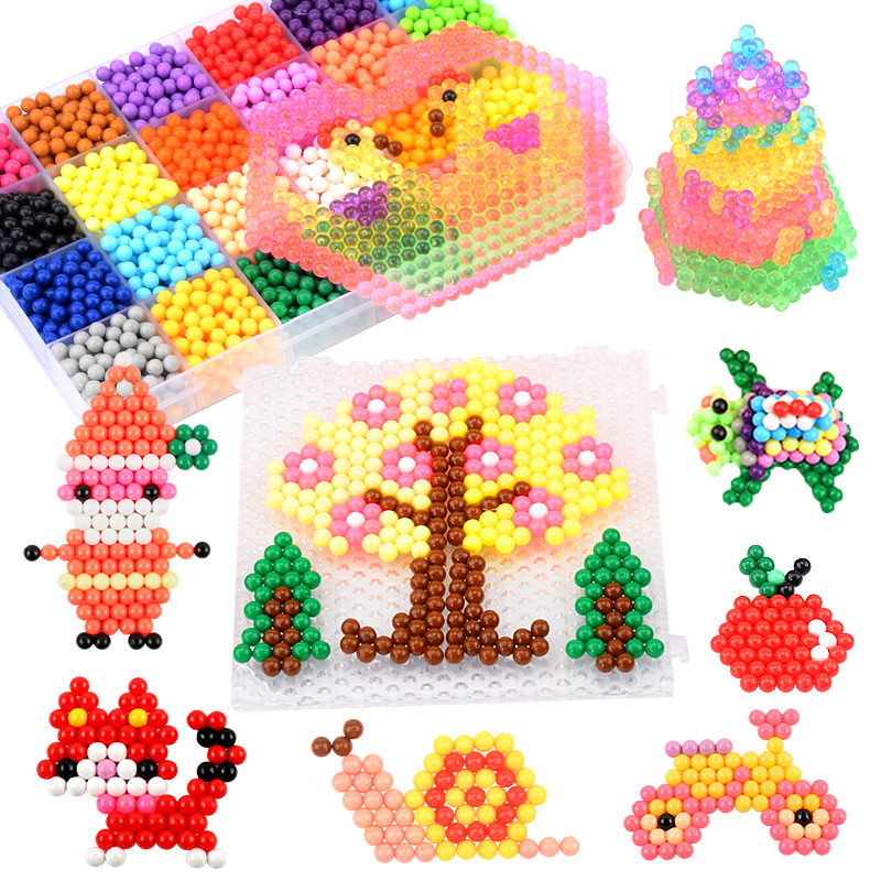Creative Handicraft Material Package Magic Water Mist Magic Toy Children's Puzzle Diy Materials Spell Doudou Set Handmade Toys