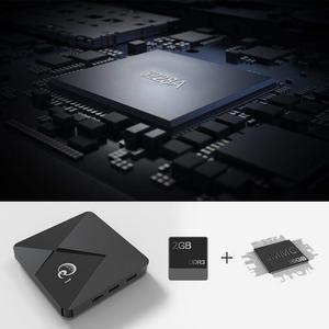 Image 2 - Mini TV Box Q1, Android 9,0, Mini Dispositivo de tv inteligente, Rockchip RK3328A, 2GB, 16GB, reproductor multimedia, Google Play, 2,4, WiFi, Android TV box