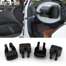 4 шт., Автомобильный Дверной замок, контрольный рычаг двери, дверные Стопорные крышки для Toyota C-HR CHR Corolla Camry Highlander Leady RAV4, аксессуары