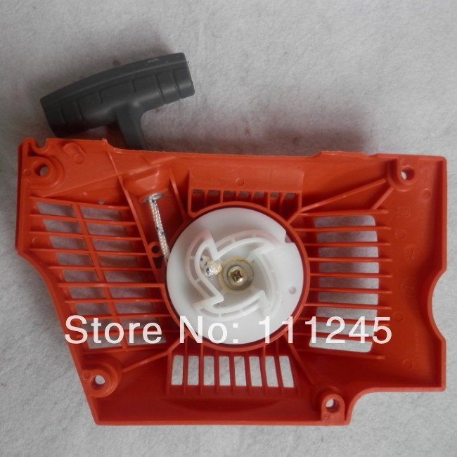 HUS. 345 RECOIL STARTER FOR HUSQVARNA 340 345 346XP 350 351 353 & more CHAINSAWS KNOB SPRING HANDLE ROPE PULLEY SPRINGASSEMBLY