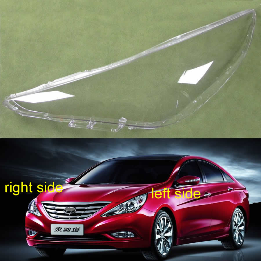 Lampshade Headlamp Cover Shell Transparent Lampshade Headlight Cover Glass Lens For Hyundai Sonata 2011 2012 2013 2014